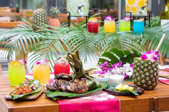【Dinner Stay】ハワイアングリルを堪能!夏のリゾート気分を楽しむ特別ディナー付きプラン