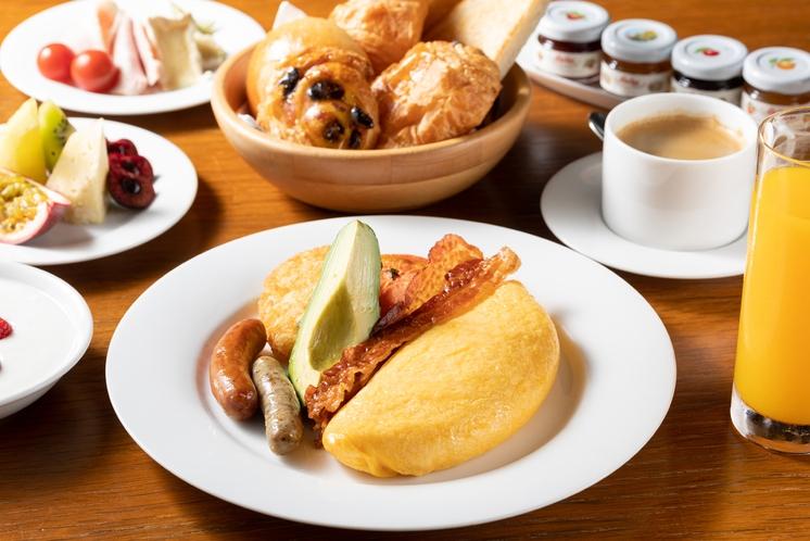 朝食 フレンチキッチン