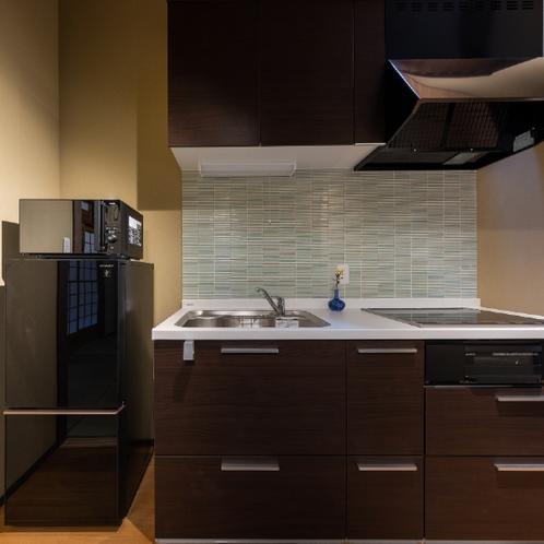 簡易調理可能なキッチン