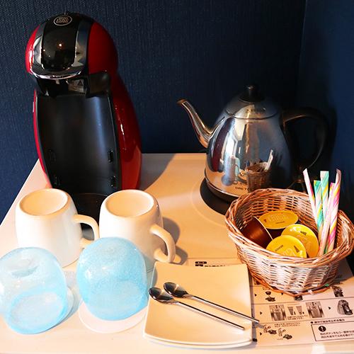 お部屋でコーヒーを