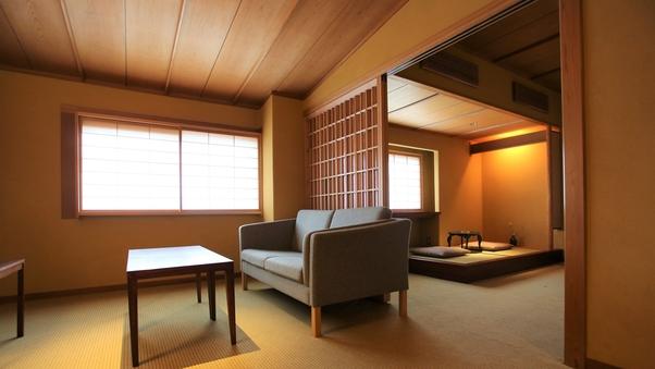 【山荘】 本館洋室 ツインベッド 内風呂付
