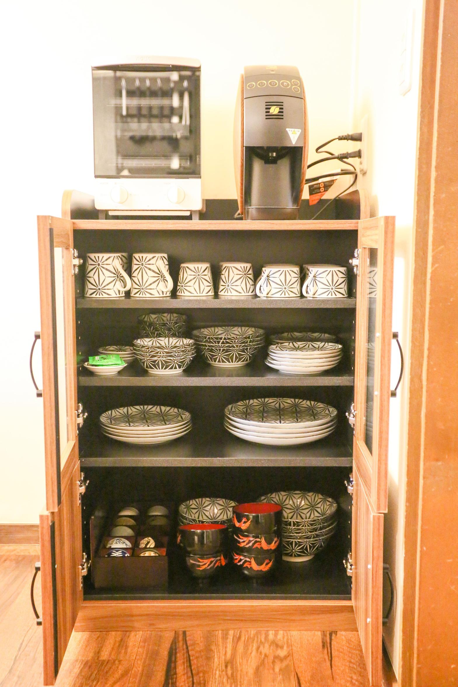 コーヒーメーカー・オーブントースター