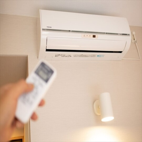 【Smart】個別式空調を全客室に完備♪