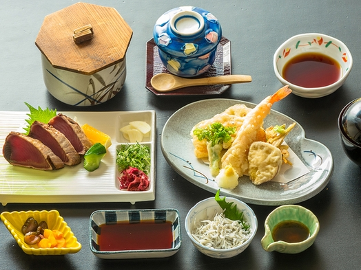 【2食付】土佐の黒潮定食のご夕食付プラン