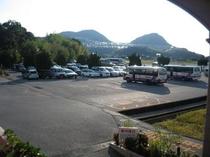 ホテル裏 大型無料駐車場