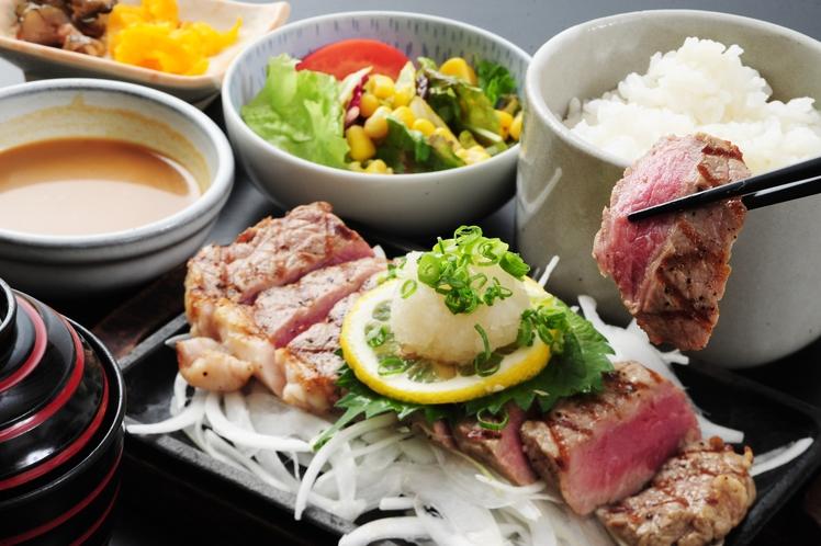 【レストランメニュー】和風ステーキ