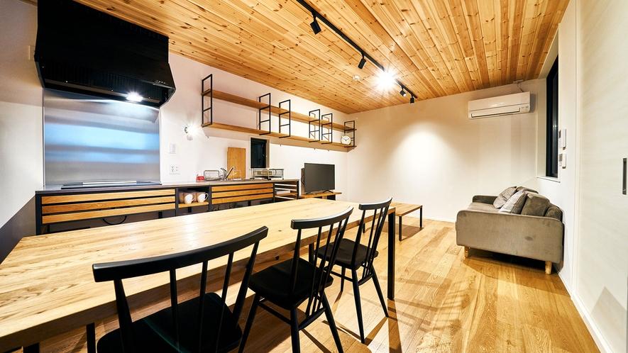 リビング・ダイニング・キッチン(2階全体)