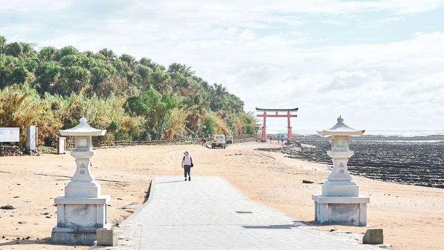 青島は島全体がパワースポットと呼ばれています