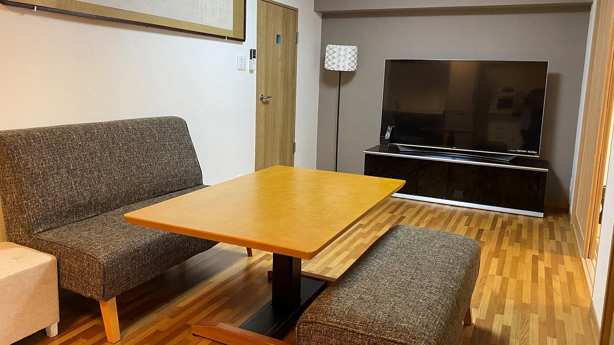 ・2ベッドルーム アパートメント(202号室)★ペット同宿可