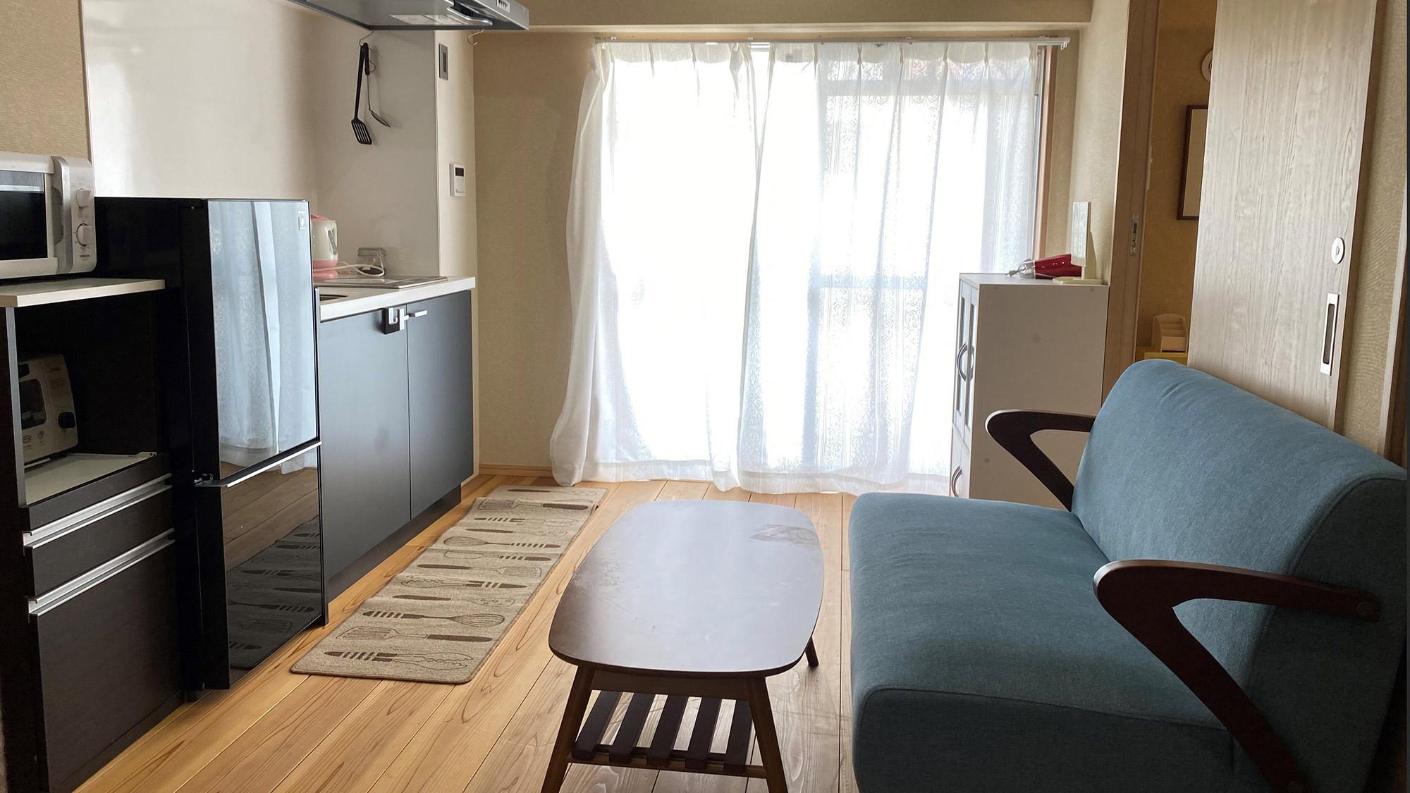 ・アパートメント バルコニー付(203号室)★ペット同宿可