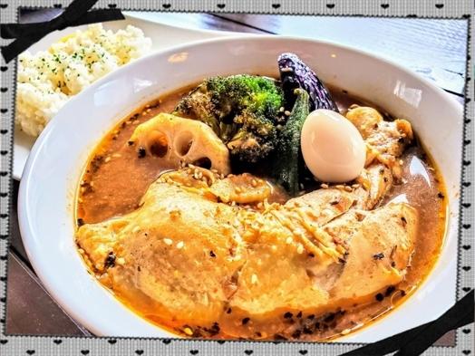 【スープカレーダルオ】お食事付き宿泊プラン