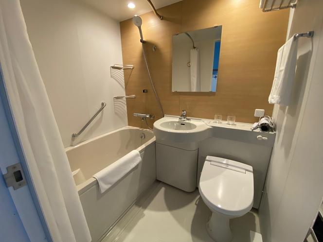 ユニットバス付き 浴室
