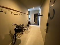 スタンダードツインルーム 電動自転車