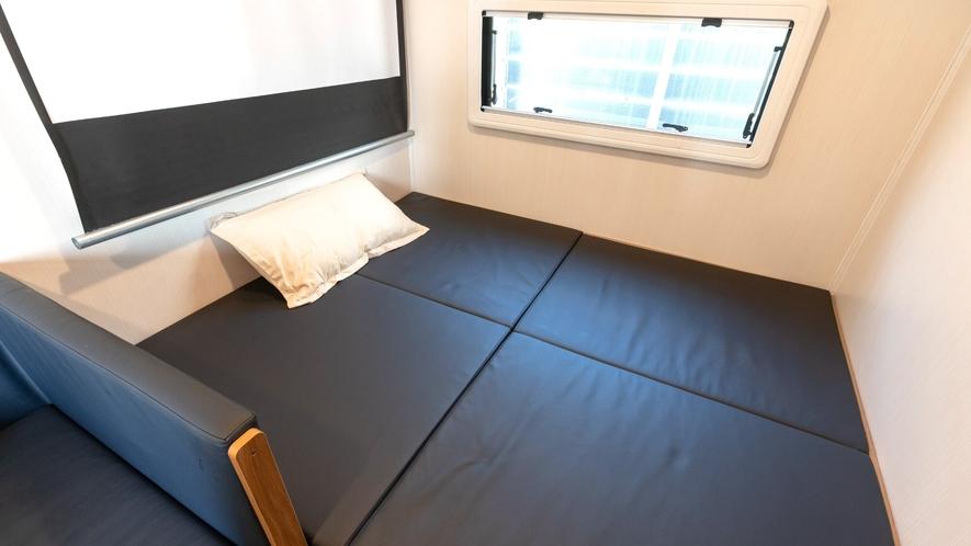 広々ベッドスペースを確保しております!