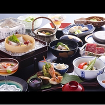 秋の会席料理一例☆☆