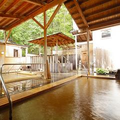 【日帰りランチ&ご入浴】レストラン利用☆くぬぎ膳<天ぷら&蕎麦付>