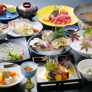 【料理内容に自信あり】ぜひ味わっていただきたい自慢の料理をご提供☆もてなし会席プラン<雲海>