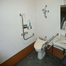 1Fロビー横にある車椅子専用トイレ