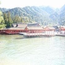 満潮時の厳島神社