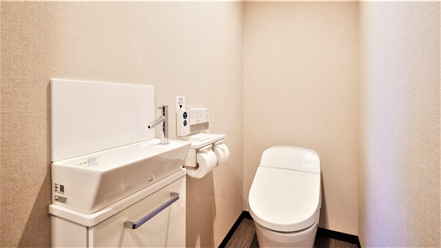 和洋室はトイレとバスが別々です