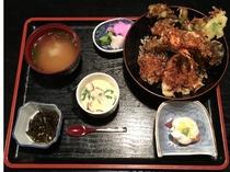 夕食 提携周辺レストラン 磯料理 厨 天丼