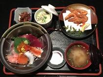 夕食 提携周辺レストラン 磯料理 厨 海鮮丼