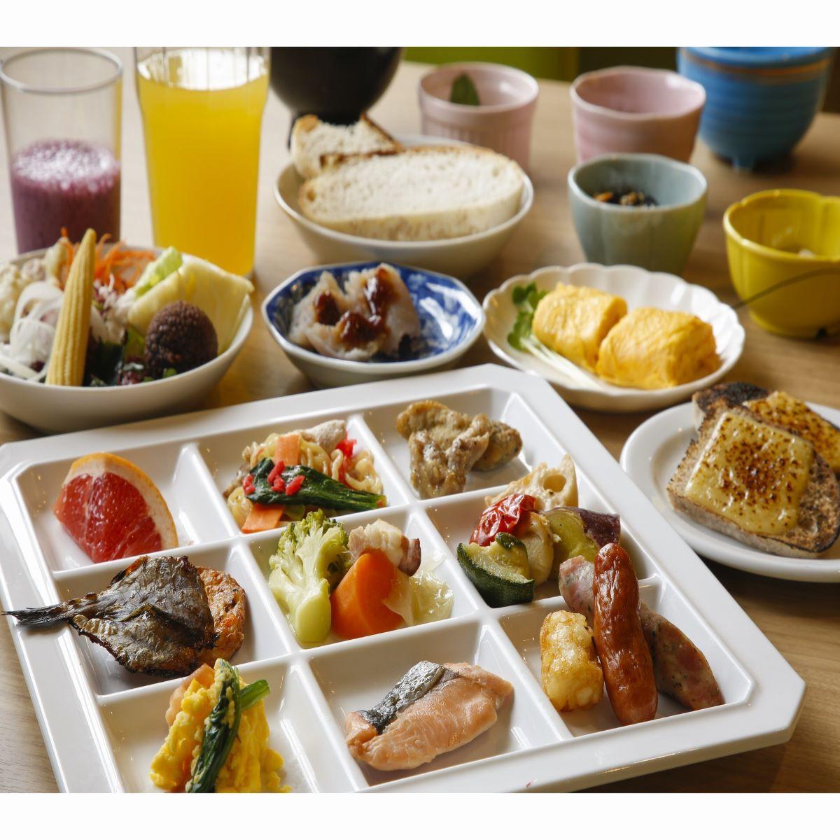 ホテルANNEX【朝食バイキング】