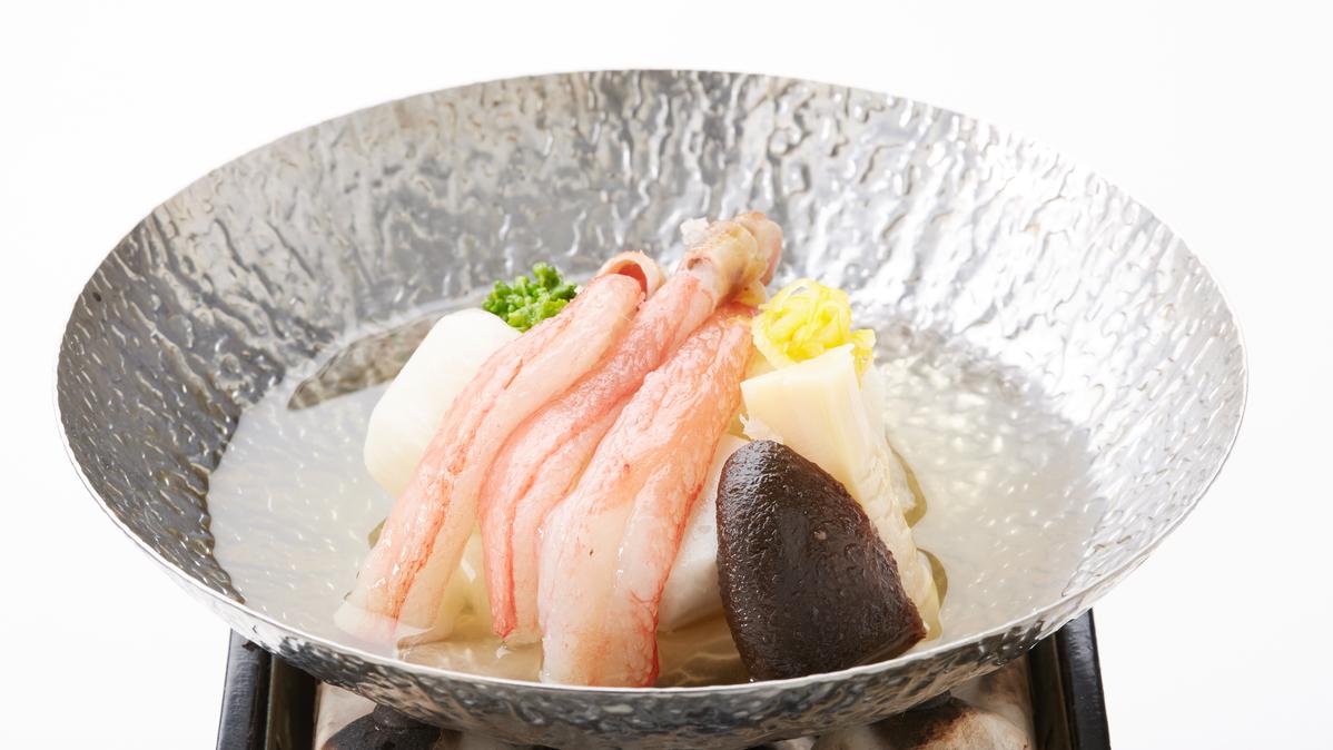 かに料理(かになべ)【日本料理 橘】