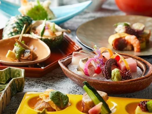 《夕・朝食付》『 日本料理 橘(たちばな)・〜贅沢〜和食会席 』会席料理8品