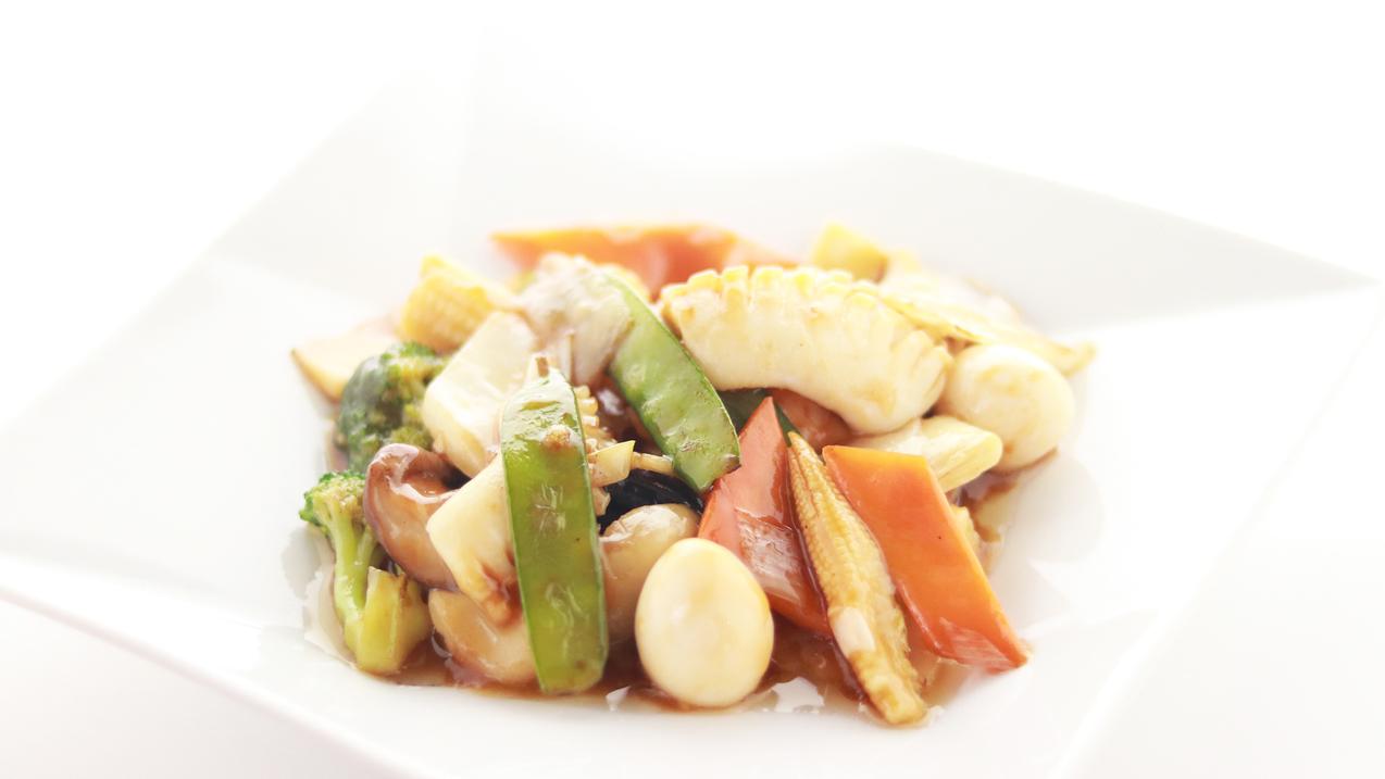 中華料理(八宝菜)【四季彩中華シノワ】