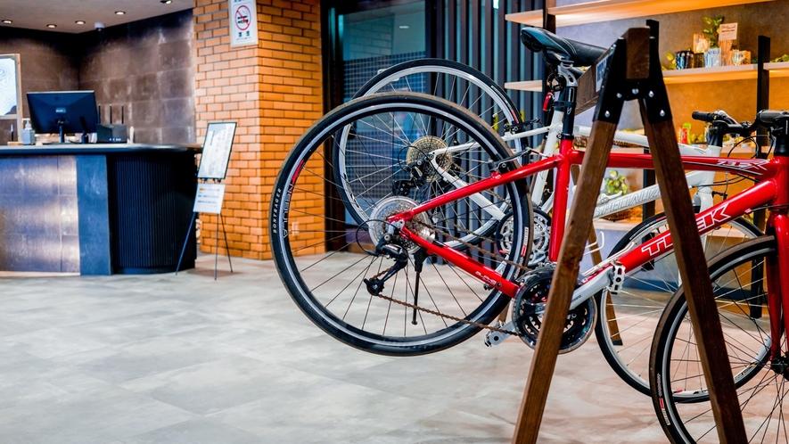 自転車・ロードバイクの旅に優しい宿宣言!!