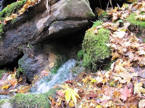 蓼科温泉 滝の湯源泉