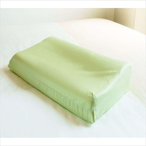 【Smart・貸出枕・数量限定】低反発緑色・・男性のリピート率NO1です