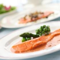 フレンチディナープラン(お魚料理です)