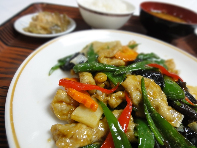 中華ディナープラン御料理例