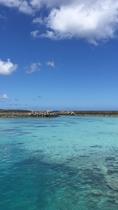 【鳩間島】瑠璃色の海『鳩間ブルー』