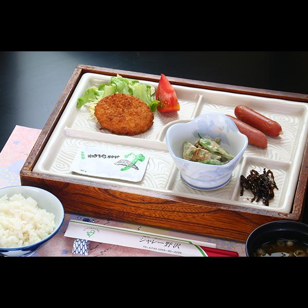 朝食は和食で日替わりになります。