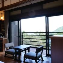【客室】別館和室ツイン(バスなし)より眺める景色