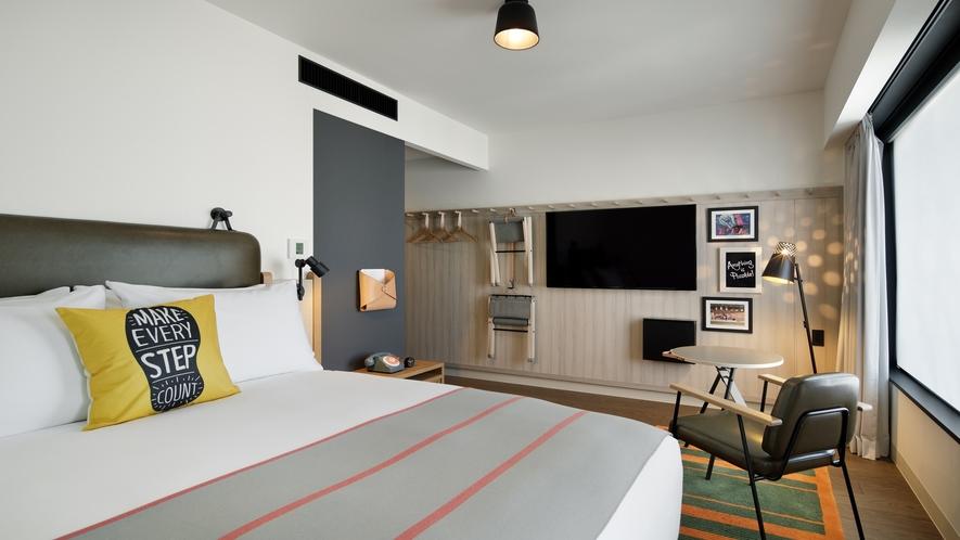ちょっと大きめのお部屋 スーペリアルーム :トリプル利用も可能です