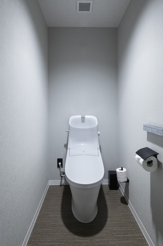 【全室ウォシュレット付きトイレ】ハリウッドツイン以外は、トイレも完全セパレートで快適^^