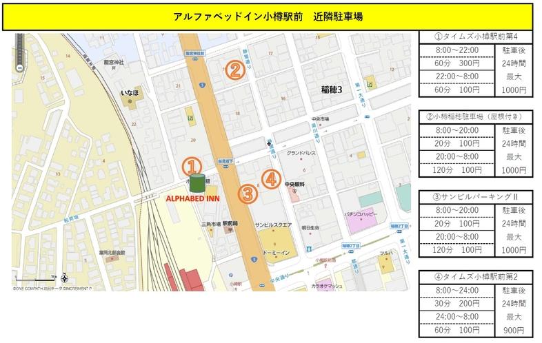 近隣駐車場MAP