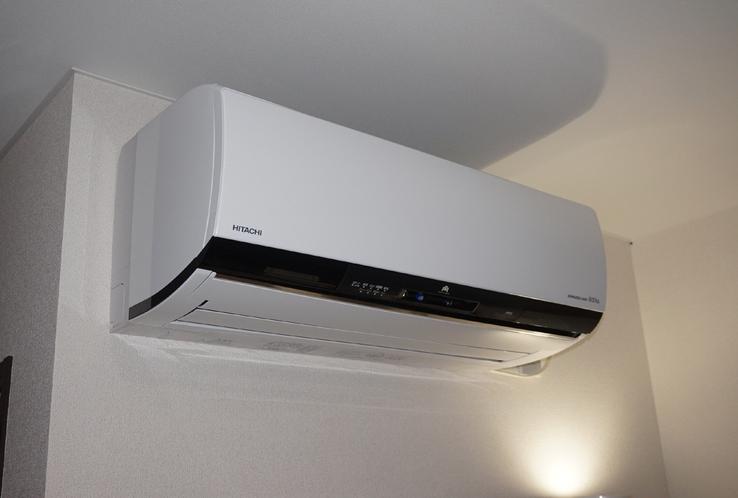 ◇客室備品◇ エアコン 全室に完備しております。