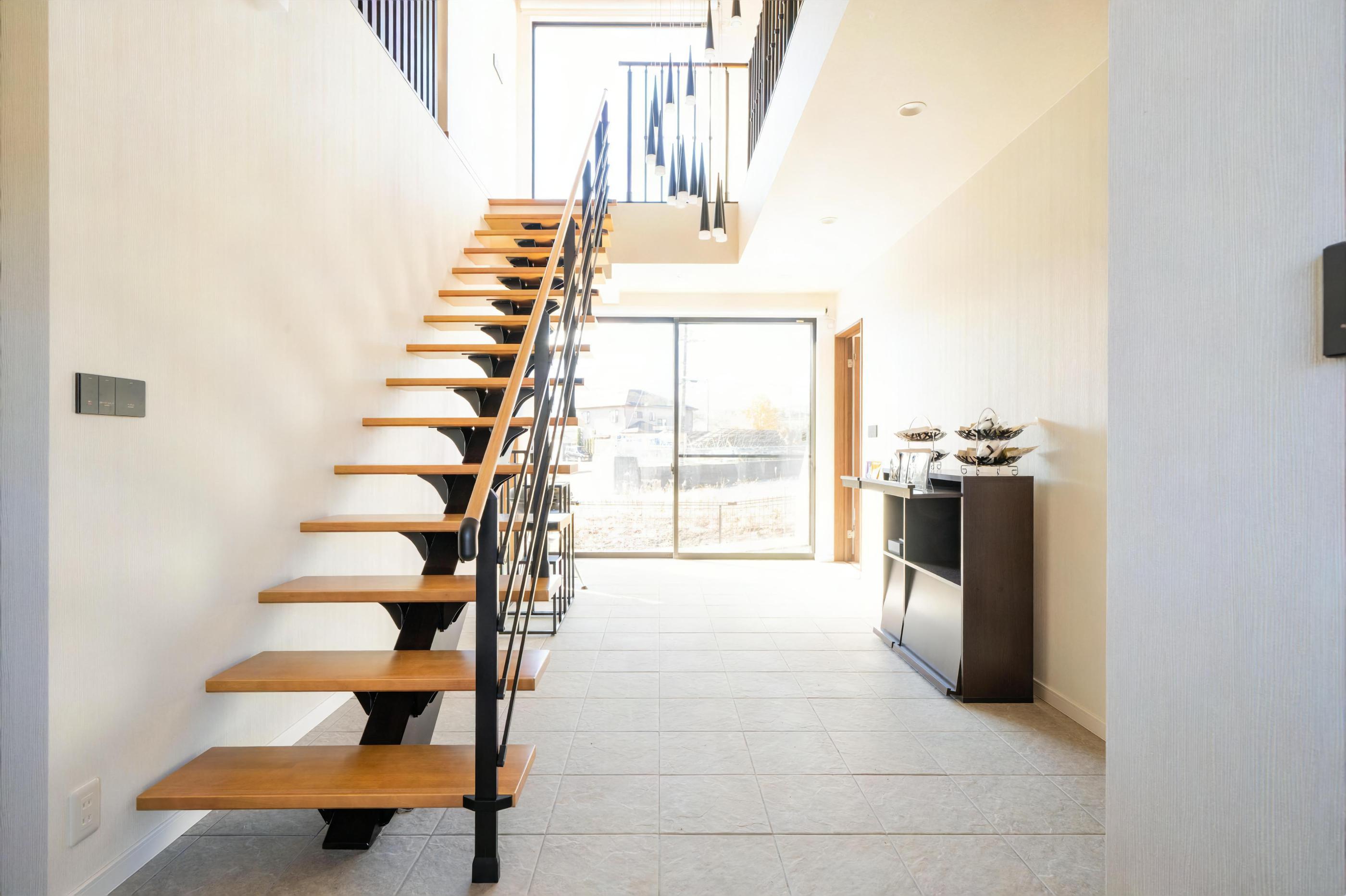 階段(バルコニーヴィラ)