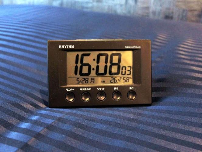 ◆卓上時計◆なかなか起きられない方の強い味方