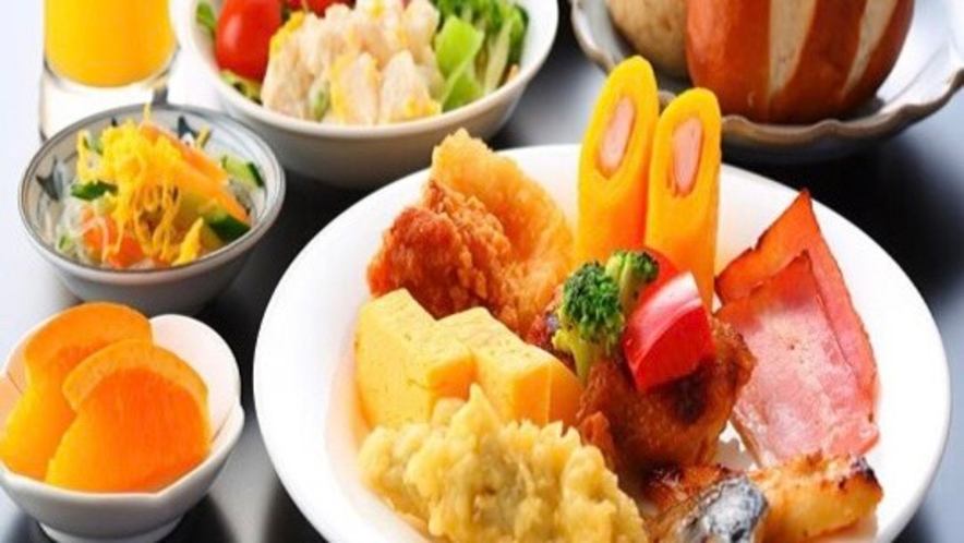 ◆バイキング朝食