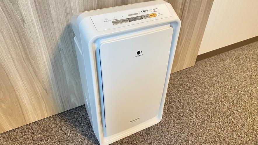 ◆全室 空気清浄機 or 加湿器 装備