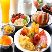 ◆バイキング朝食 6:30-9:00