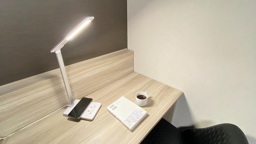 ◆全室電気スタンド完備