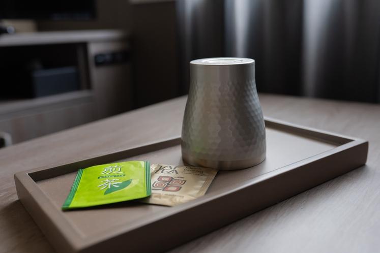客室 煎茶・紅茶
