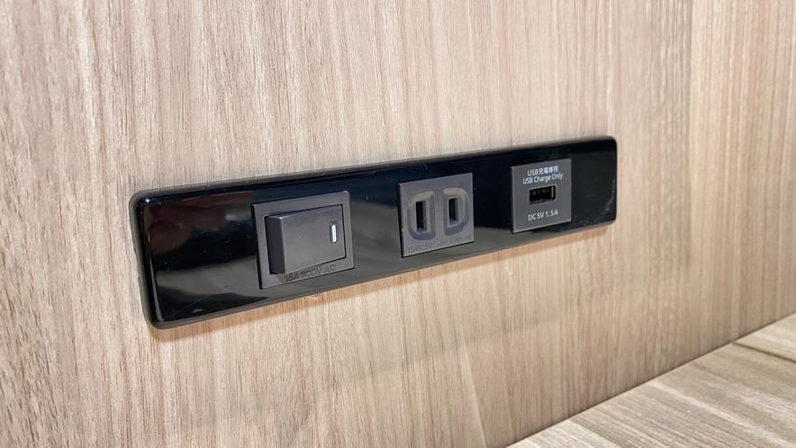 ◆全室USBコンセント完備